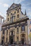Η εκκλησία Jesuit Στοκ Εικόνες
