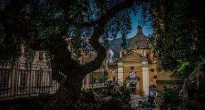 Η εκκλησία Suffragio στο Καρράρα Στοκ Εικόνα