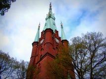 Η εκκλησία Αγίου Clare Στοκχόλμη Στοκ φωτογραφία με δικαίωμα ελεύθερης χρήσης