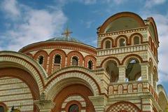 Η εκκλησία Αγίου George Asprovalta Στοκ εικόνα με δικαίωμα ελεύθερης χρήσης