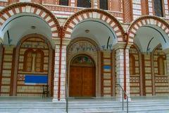 Η εκκλησία Αγίου George Asprovalta Στοκ Φωτογραφία