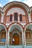 Η εκκλησία Αγίου George Asprovalta Στοκ φωτογραφία με δικαίωμα ελεύθερης χρήσης