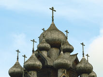 η εκκλησία διασχίζει το&up Στοκ εικόνες με δικαίωμα ελεύθερης χρήσης