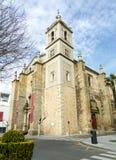 Η εκκλησία κοινοτήτων του Σαντιάγο φορά μέσα το Benito, Εστρεμαδούρα Caceres Στοκ εικόνα με δικαίωμα ελεύθερης χρήσης