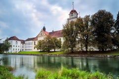Η εκκλησία μοναστηριών Rheinau στοκ εικόνα