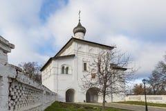 Η εκκλησία πυλών Annunciation στο Σούζνταλ ήταν Στοκ εικόνες με δικαίωμα ελεύθερης χρήσης