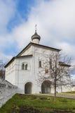 Η εκκλησία πυλών Annunciation στο Σούζνταλ ήταν Στοκ Φωτογραφία