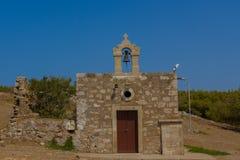 Η εκκλησία σε Fortezza Rethymno Στοκ φωτογραφία με δικαίωμα ελεύθερης χρήσης