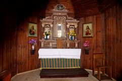 Η εκκλησία στιλβωτικής ουσίας Στοκ εικόνα με δικαίωμα ελεύθερης χρήσης