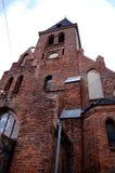 Η εκκλησία στιλβωτικής ουσίας Στοκ φωτογραφίες με δικαίωμα ελεύθερης χρήσης