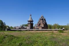 Η εκκλησία στο όνομα της άγιας παρθένας Στοκ εικόνες με δικαίωμα ελεύθερης χρήσης