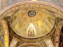 Η εκκλησία της Ιερουσαλήμ όλων των εθνών καλύπτει το 2012 δια θόλου Στοκ Φωτογραφία