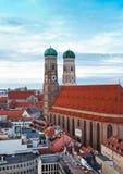 Η εκκλησία της κυρίας μας (Frauenkirche) στο Μόναχο Στοκ Εικόνα