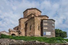 Η εκκλησία του ιερού σταυρού, Jvari Στοκ Εικόνα
