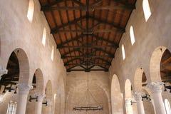 Η εκκλησία του πολλαπλασιασμού των φραντζολών και των ψαριών, Tabgha Στοκ φωτογραφίες με δικαίωμα ελεύθερης χρήσης