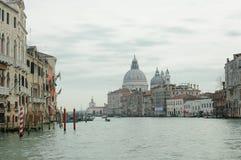 Η εκκλησία του χαιρετισμού della της Σάντα Μαρία στη Βενετία Στοκ φωτογραφία με δικαίωμα ελεύθερης χρήσης