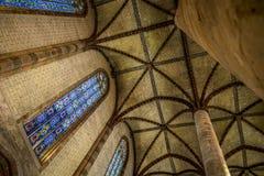 Η εκκλησία του Jacobins στην Τουλούζη Στοκ Εικόνες