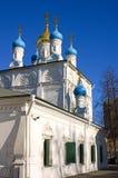 Η εκκλησία του Peter και του Paul στο στρατιώτη έξω από τη Μόσχα Στοκ Εικόνες