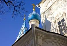 Η εκκλησία του Peter και του Paul στο στρατιώτη έξω από τη Μόσχα Στοκ φωτογραφία με δικαίωμα ελεύθερης χρήσης