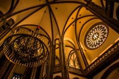 Η εκκλησία του San Juan Bautista Arucas Στοκ εικόνα με δικαίωμα ελεύθερης χρήσης
