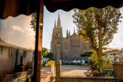 Η εκκλησία του San Juan Bautista Arucas Στοκ φωτογραφίες με δικαίωμα ελεύθερης χρήσης