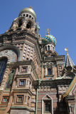 Η εκκλησία του Savior στο αίμα σε Άγιο Πετρούπολη Στοκ εικόνα με δικαίωμα ελεύθερης χρήσης