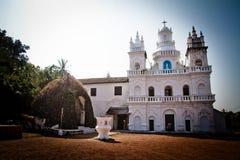 Η εκκλησία του ST Cajetan Anjuna, Goa, Ινδία Στοκ Εικόνες