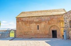 Η εκκλησία του ST Gevorg στο μοναστήρι Khor Virap Στοκ φωτογραφία με δικαίωμα ελεύθερης χρήσης