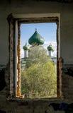 Η εκκλησία του ST John το βαπτιστικό Nativity σε Malysheva τοποθετεί στο S Στοκ εικόνες με δικαίωμα ελεύθερης χρήσης