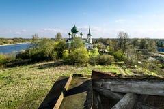 Η εκκλησία του ST John το βαπτιστικό Nativity σε Malysheva τοποθετεί στο S Στοκ εικόνα με δικαίωμα ελεύθερης χρήσης