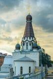 Η εκκλησία του ST Peter ο μητροπολιτικός της Άγιος-Πετρούπολης Στοκ Εικόνες