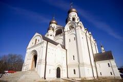 Η εκκλησία του ST Seraphim Sarov σε Medvedkovo Μόσχα Στοκ εικόνες με δικαίωμα ελεύθερης χρήσης