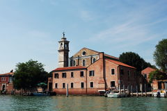 Η εκκλησία Angeli degli της Σάντα Μαρία, Murano, Ιταλία Στοκ φωτογραφία με δικαίωμα ελεύθερης χρήσης