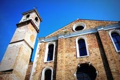 Η εκκλησία Angeli degli της Σάντα Μαρία, Murano, Ιταλία Στοκ Εικόνες