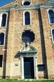 Η εκκλησία Angeli degli της Σάντα Μαρία, Murano, Ιταλία Στοκ Φωτογραφίες