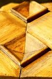 Η εκκλησία arsizio busto έκλεισε την ξύλινη Ιταλία Λομβαρδία Στοκ φωτογραφία με δικαίωμα ελεύθερης χρήσης