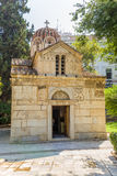 Η εκκλησία Panagia Gorgoepikoos (η μικρή μητρόπολη) στοκ εικόνες