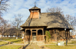 Η εκκλησία Rapciuni στο του χωριού μουσείο, Βουκουρέστι, Ρουμανία Στοκ εικόνες με δικαίωμα ελεύθερης χρήσης