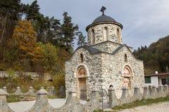 Η εκκλησία Templar από το πίτουρο Στοκ εικόνα με δικαίωμα ελεύθερης χρήσης