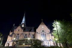 Η εκκλησία UmeÃ¥, Σουηδία Στοκ Εικόνα