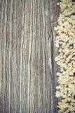 Η εκλεκτής ποιότητας φωτογραφία, Elderberry ανθίζει στον αγροτικό πίνακα, διάστημα αντιγράφων για το κείμενο Στοκ Εικόνα