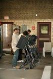 η εκλογή 2008 ημερών δηλώνει ενωμένο Στοκ εικόνα με δικαίωμα ελεύθερης χρήσης