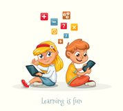 Η εκμάθηση είναι funq στοκ εικόνα με δικαίωμα ελεύθερης χρήσης