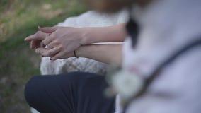 Η εκμετάλλευση ζεύγους δίνει κοντά επάνω απόθεμα βίντεο