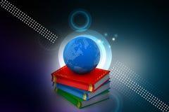 η εκπαίδευση έννοιας βιβλίων απομόνωσε παλαιό Στοκ εικόνα με δικαίωμα ελεύθερης χρήσης