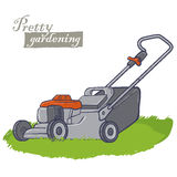 Ηλεκτρικά εργαλεία κήπων Στοκ Εικόνα