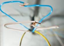 Ηλεκτρικά καλώδια σύνδεσης Στοκ Φωτογραφίες