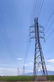 Ηλεκτρικά καλώδια υψηλής έντασης Στοκ Εικόνες