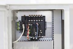 ηλεκτρικά μέρη Στοκ Εικόνες