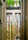 Ηλεκτρικά τερματικά και καλώδια Στοκ φωτογραφία με δικαίωμα ελεύθερης χρήσης